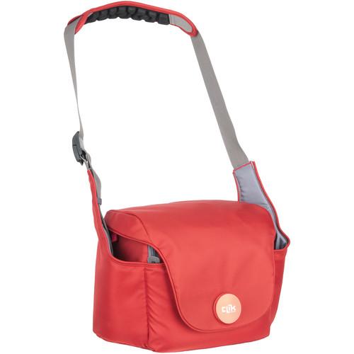 "Clik Elite Magnesian 20 Shoulder Bag (9.3 x 13 x 7.5"", Ruby)"