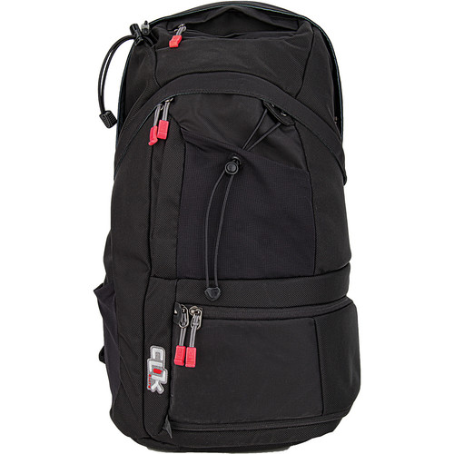 Clik Elite ProBody Sport Backpack with Computer Sleeve (Black)