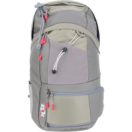 Clik Elite ProBody Sport Backpack with Computer Sleeve (Gray)