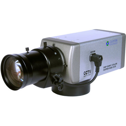 "Clover Electronics Z-570 Day / Night High Resolution Camera (1/3"", CCD, 540TVL)"