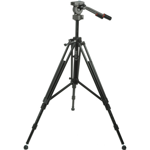 CobraCrane Certified Tripod w/2-Way Fluid Head