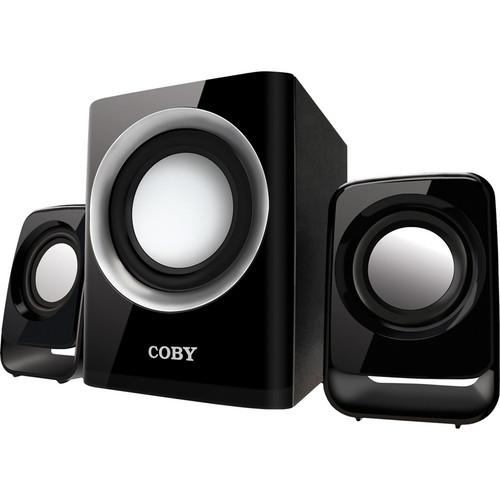 Coby CSMP67 50W Multimedia Speaker System