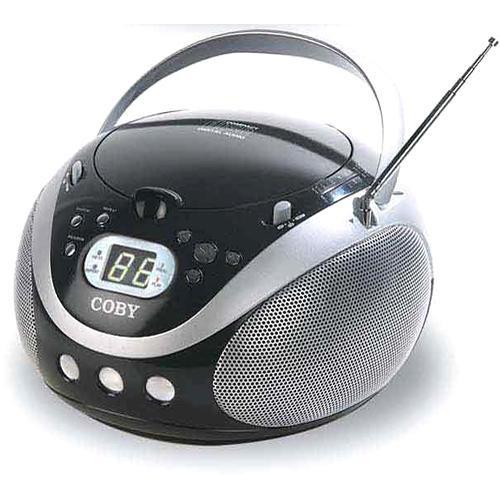 Coby CX-CD241 Portable CD Player (Black)