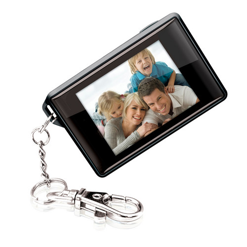 Coby DP180 Digital Photo Keychain (Black)