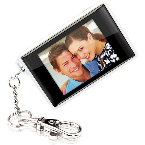 Coby DP180 Digital Photo Keychain (White)