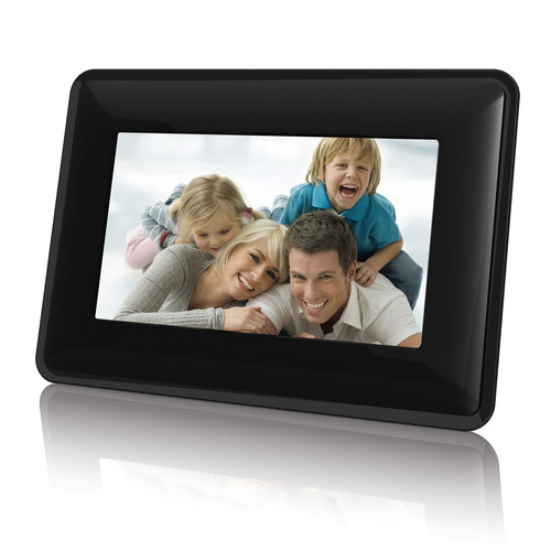 "Coby DP730 7"" Widescreen Digital Photo Frame (Contemporary)"