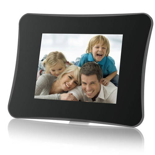 """Coby DP750 7"""" Digital Photo Frame with Multimedia Playback (Contemporary)"""