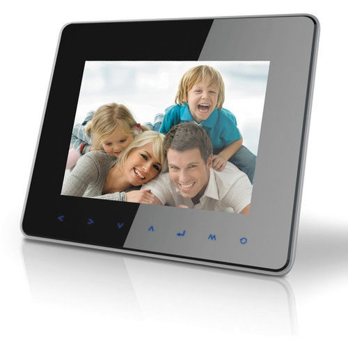 "Coby DP870 8"" Digital Photo Frame with Multimedia Playback (Contemporary)"