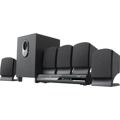 Coby DVD765 5.1-Channel DVD Home Theater System