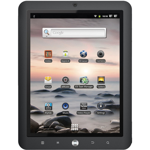 "Coby 4GB Kyros MID8125 8"" Tablet"