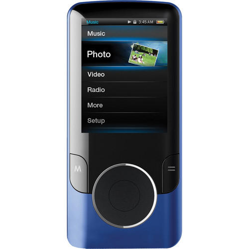 Coby MP707 MP3 Player (Blue)