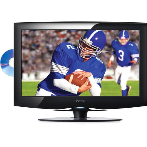 "Coby TFDVD1995 19"" LCD TV w/ DVD Player"