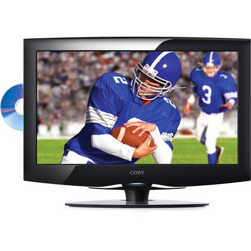 "Coby TFDVD2295 22"" LCD TV w/ DVD Player"