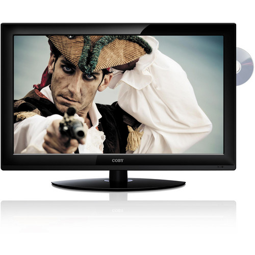 "Coby TFDVD3299 32"" HDTV w/ DVD Player"