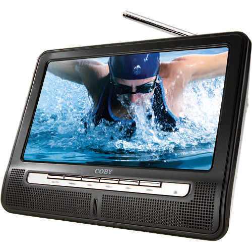 """Coby TF-TV1091 10.2"""" Portable Widescreen TFT LCD TV"""