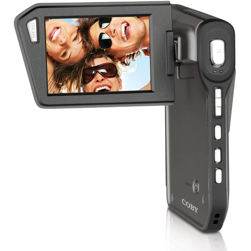 Coby CAM5005 SNAPP HD Touch Screen Camcorder