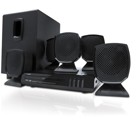 Coby DVD760 5.1-Channel DVD Home Theater System (Black)
