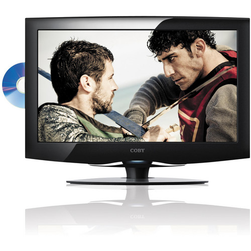 "Coby LEDVD1996 19"" LED TV with DVD Player"
