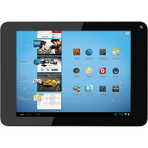 "Coby 4GB Kyros MID8048 8"" Tablet (Black)"