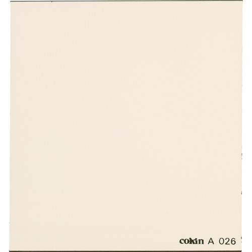 Cokin A026 81A Color Conversion Resin Filter
