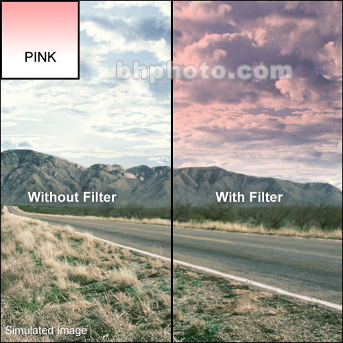 Cokin A128 Pink Graduated P1 Resin Filter