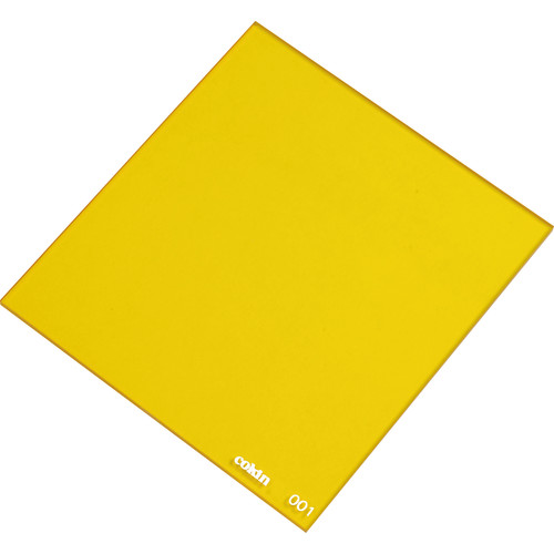Cokin P001 Yellow Resin Filter for Black & White Film