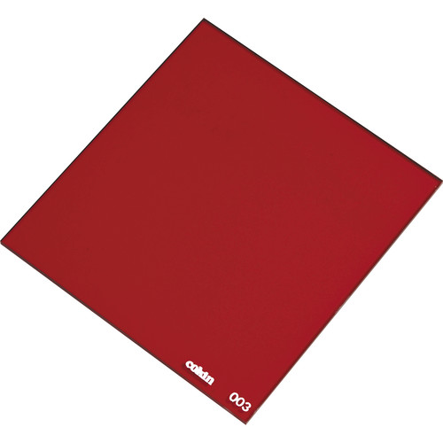 Cokin P003 Red Resin Filter for Black & White Film