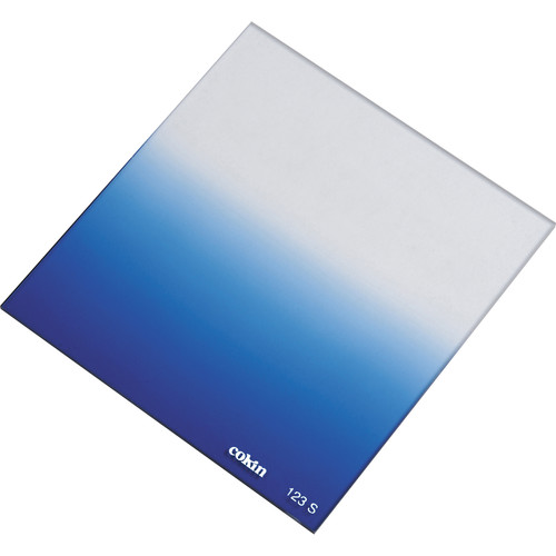 Cokin P Series Soft-Edge Graduated Blue 0.5 Filter (1.6-Stop)