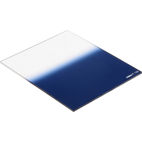 Cokin P Series Hard-Edge Graduated Blue 0.6 Filter (2-Stop)