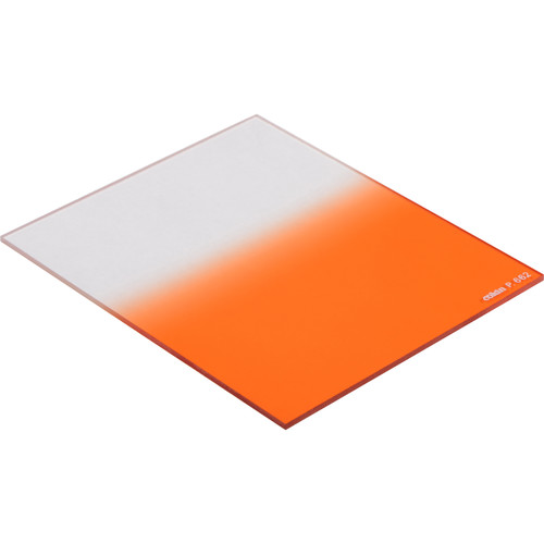 Cokin P Series Hard-Edge Graduated Fluorescent Orange 0.3 Filter (1-Stop)