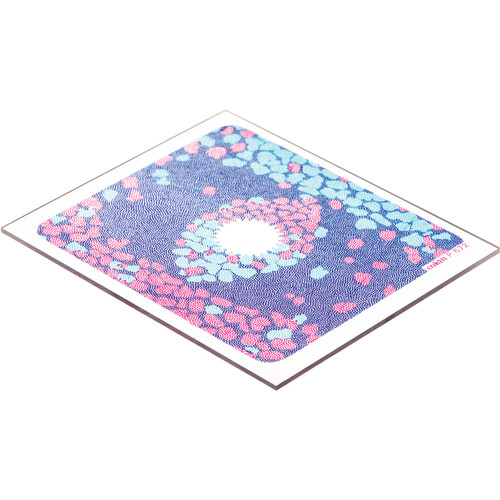 Cokin P672 Pink/Blue Bi-Color Center Spot Resin Filter