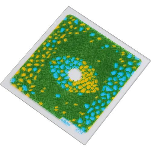 Cokin P674 Blue/Yellow Bi-Color Center Spot Resin Filter