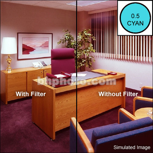 Cokin P700 Color Compensating CC05C (Cyan) Resin Filter
