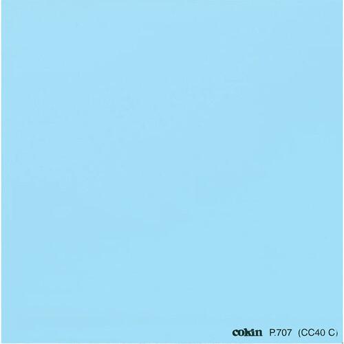 Cokin P707 Color Compensating CC40C (Cyan) Resin Filter