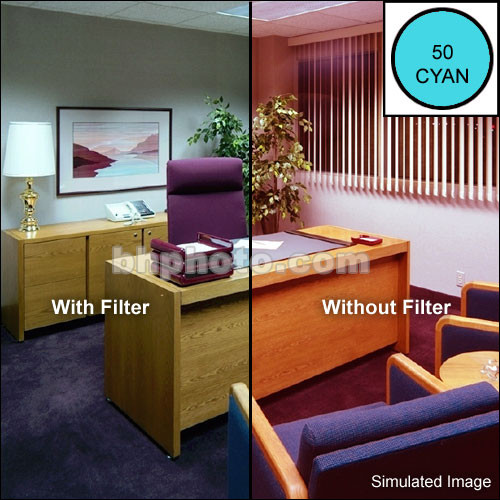 Cokin P709 Color Compensating CC50C (Cyan) Resin Filter