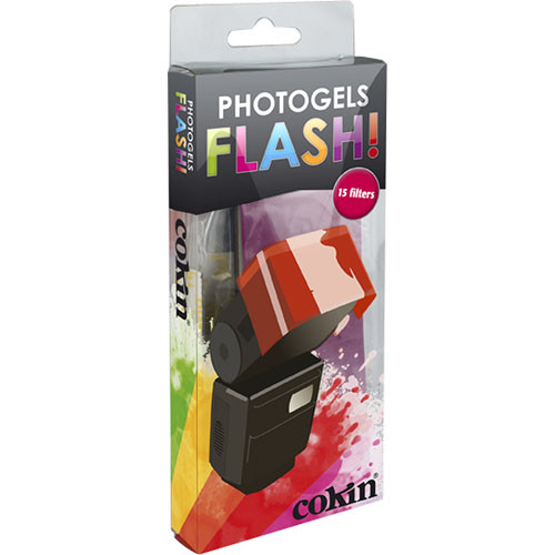 "Cokin Photogel FLASH Filters 5 x 2"" (15-Pack)"