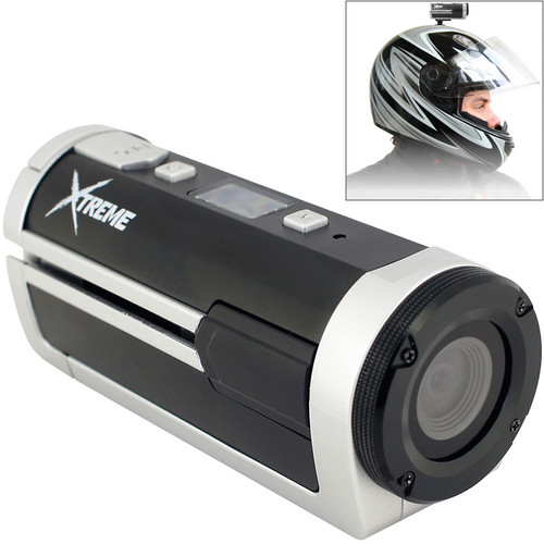 Coleman Xtreme Sport Waterproof HD Helmet Camera (Silver)
