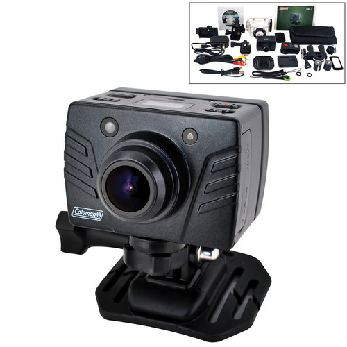 Coleman CXS2WP Full HD Waterproof Xtreme Sports Cam