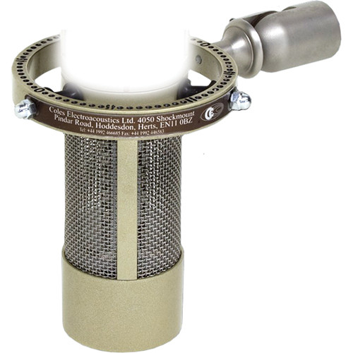 Coles Microphones 4050 Mono Ribbon Microphone with Shock Mount