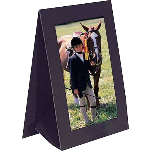 "Collector's Gallery Grandeur Easel Frame -without Foil Window Border  Model PF5100-46  - for 4 x 6"" Print (Portrait Format)"