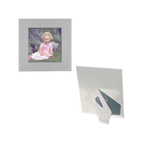 "Collector's Gallery Easel Frame - 3 x 5"", Model PF5808-46 - 25 Frames (White on White)"