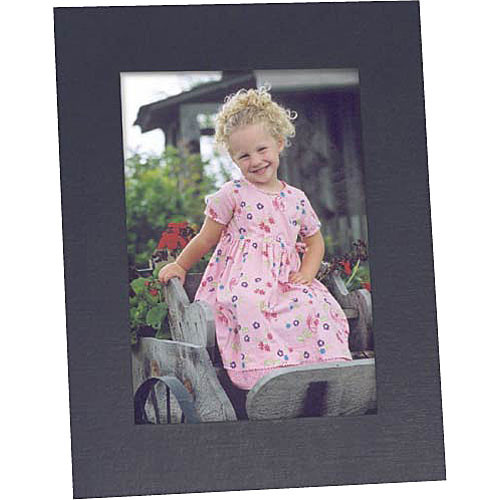 "Collector's Gallery Easel Picture Frame for 5 x 7"" Print  with Plain Border , Model PF5900-57"