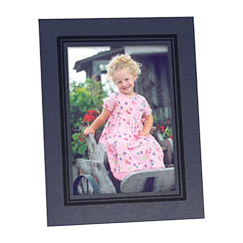 "Collector's Gallery Easel Picture Frame for 5 x 7"" Print  with Black Border , Model PF5950-57"