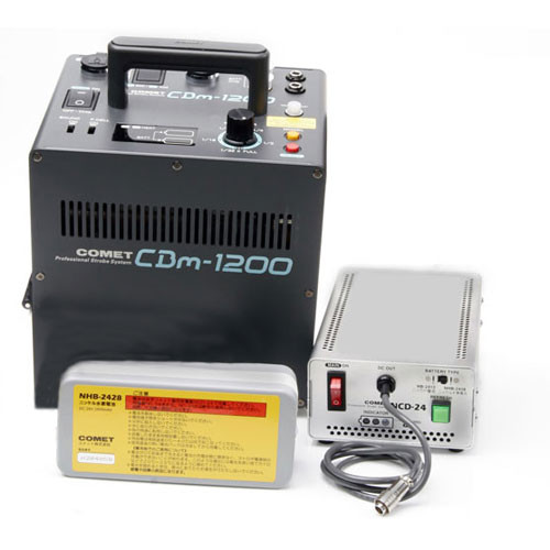 Comet CBm-1200 1200 W/S Power Supply, Battery, Charger