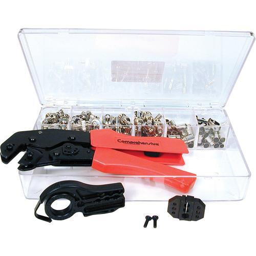 Comprehensive BNC Crimp Connector Kit