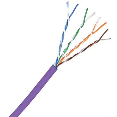 Comprehensive Cat 5e 350 MHz Solid Cable - 1000' (Purple)