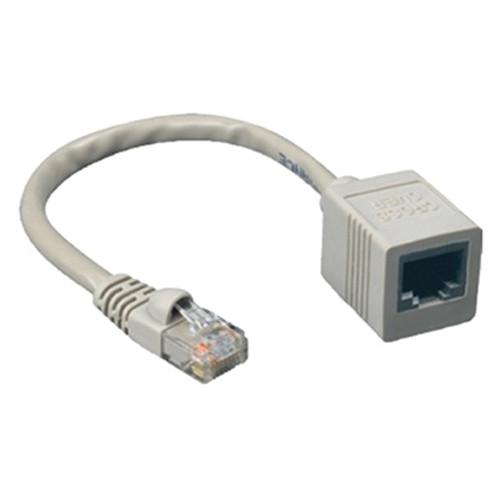 """Comprehensive 8"""" (20.32 cm) CAT5E Cross Over Male/Female Cable"""