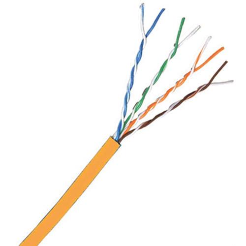 Comprehensive Cat 6 500 MHz UTP Solid Cable (1000', Orange)