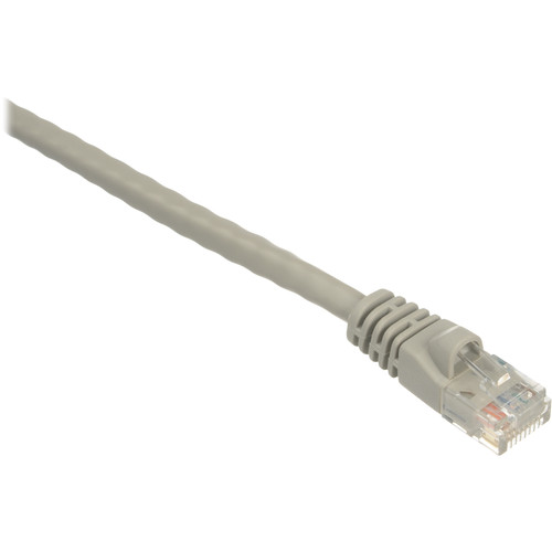 Comprehensive 50' (15.2 m) Cat6 550MHz Snagless Patch Cable (Gray)