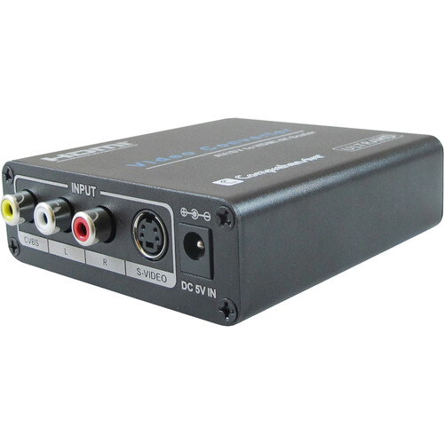 Comprehensive Composite/S-Video & Audio to HDMI Converter